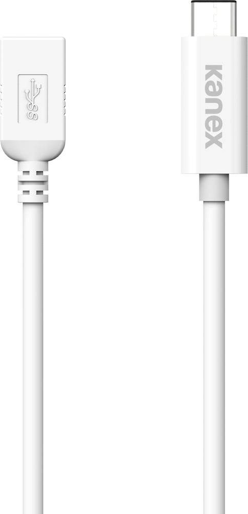 Kanex USB-C to USB-A Female adapter 20cm white (KU3CA107I)