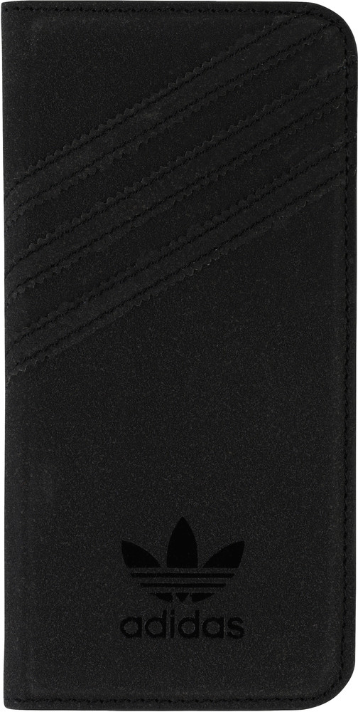 Booklet Case Suède iPhone 6 Zwart