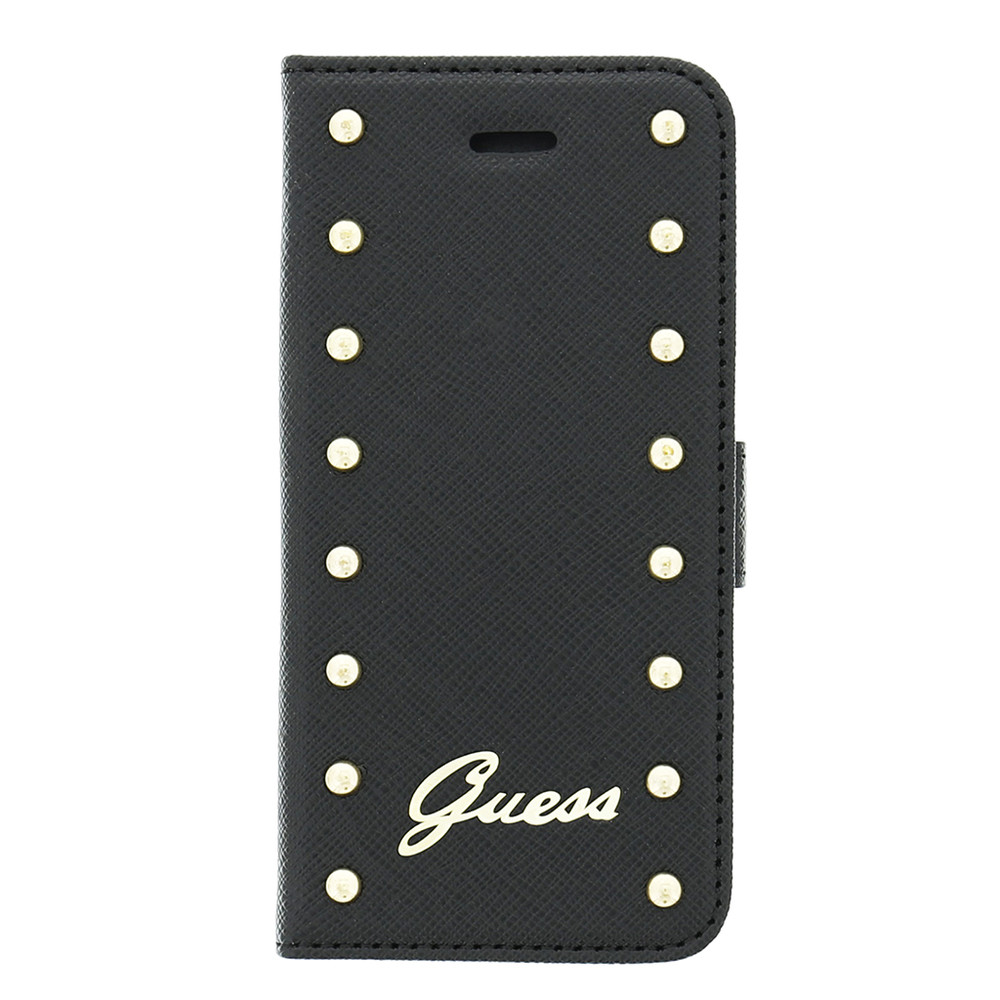 Guess Booklet Case Studded Black iPhone 5 en 5S