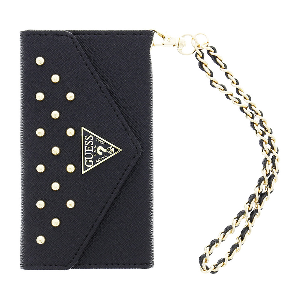 Guess Clutch Studded Collection Apple iPhone 6 Plus Zwart