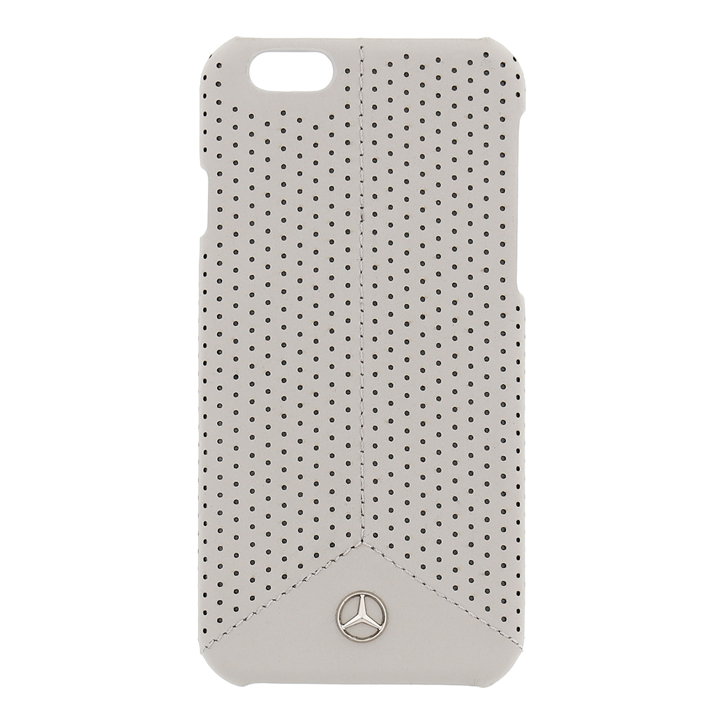 Pure Line Perforated Leather hardcase voor de iPhone 6-6s Taupe