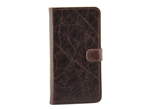 Milano CC iPhone 6 Plus-6S Plus Book Case Brown