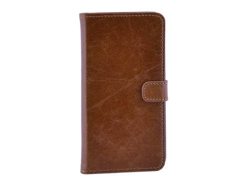 Milano CC iPhone 6 Plus-6S Plus Book Case Ginger Tan