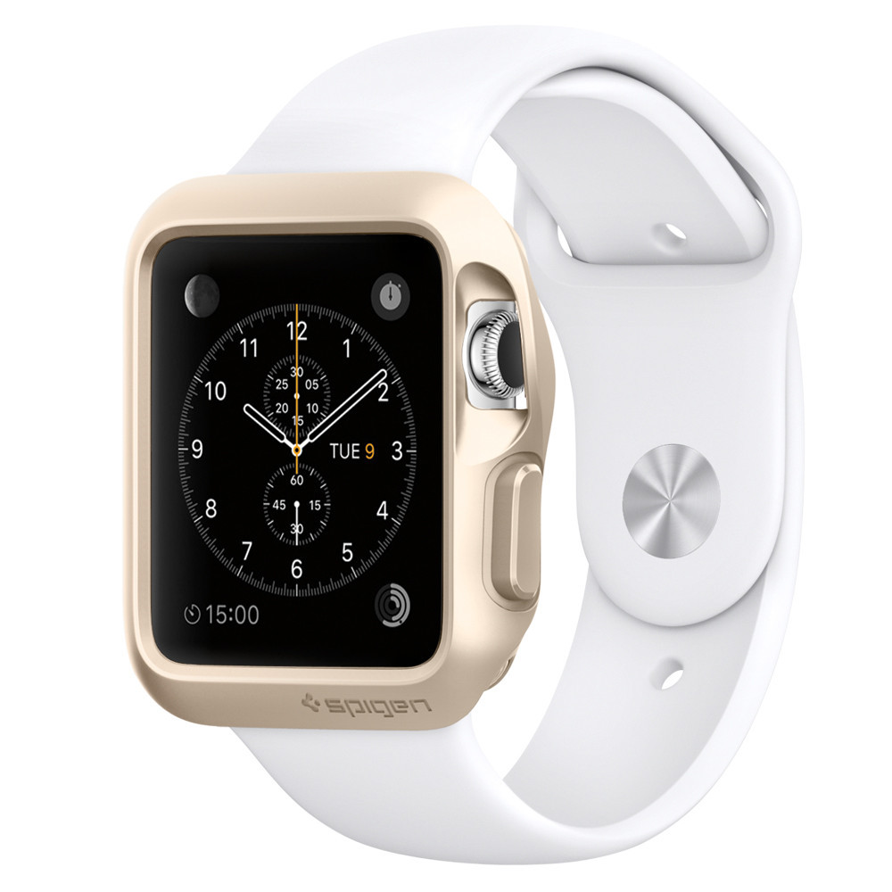 Spigen Slim Armor Apple Watch 38mm Goud