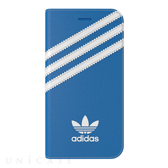 Adidas Originals Booklet case Apple iPhone 7 Blauw-Wit