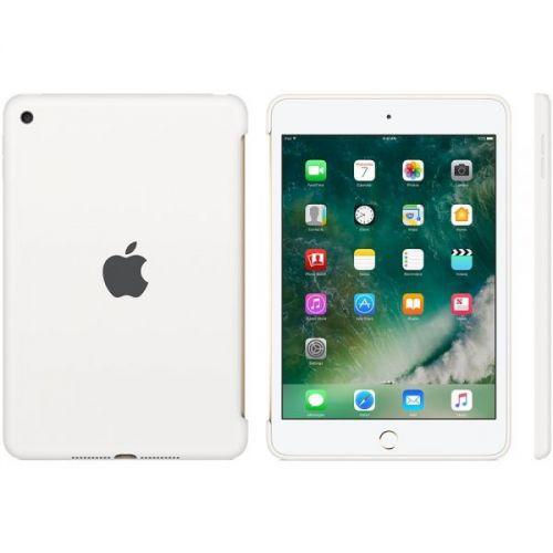 Apple iPad Mini4 Silicone Case White (MKLL2ZM-A)