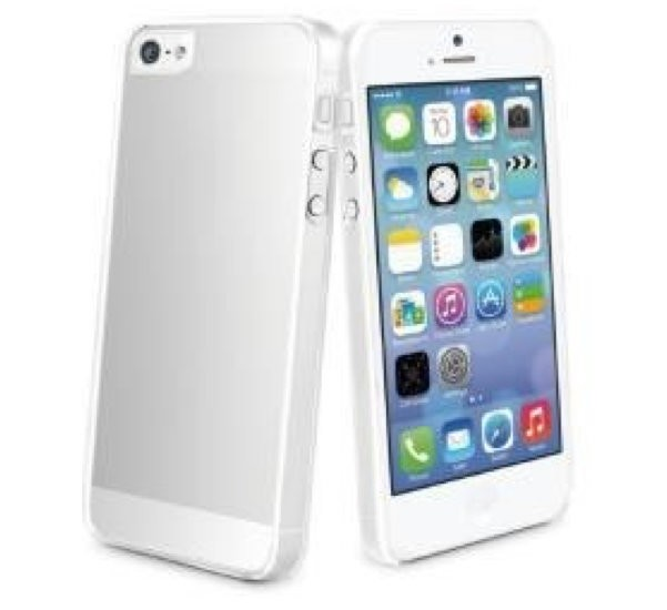Muvit Crystal Case Transparant + Screen iPhone 5 (MUCRY0010)