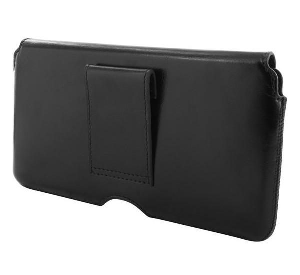 Mobiparts Excellent Belt Holster Case 5XL Jade Black