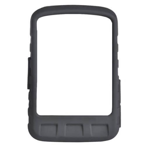 Casecentive Silicone hoesje Wahoo ELEMNT ROAM met screenprotector zwart