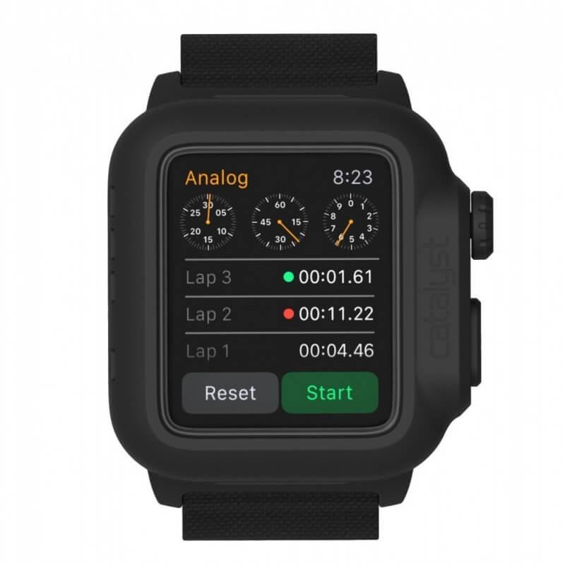 Catalyst Waterproof Apple Watch 2 38mm Case Zwart