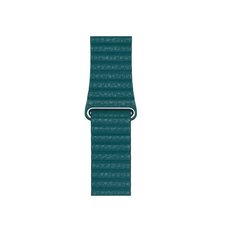 Apple Leather Loop Apple Watch medium 42mm / 44mm Peacock