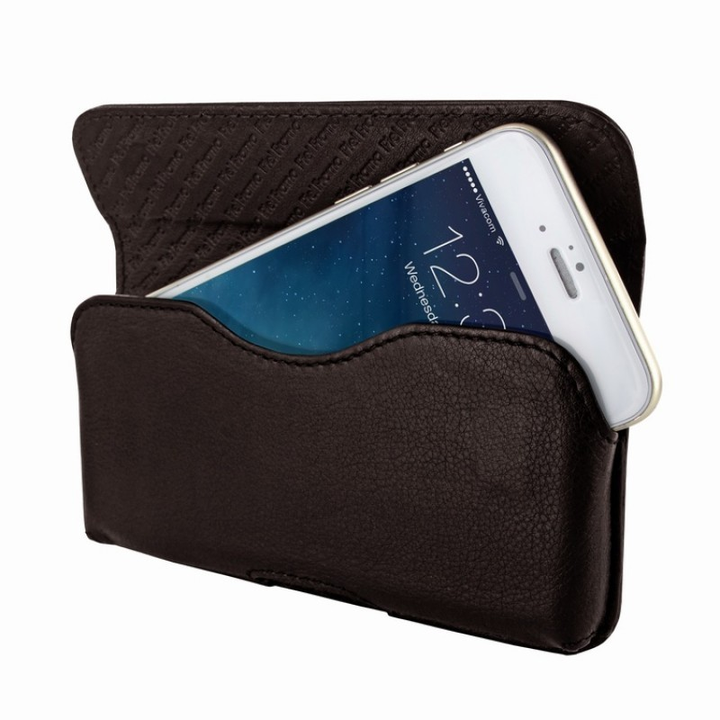 Piel Frama Horizontal iPhone 6(S) / 7 bruin