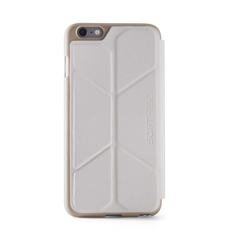 Element case Soft-Tec Wallet iPhone 6(S) wit/goud