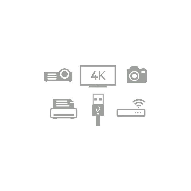 Kanex USB-C to USB-A 3.0 Female adapter 20 cm white