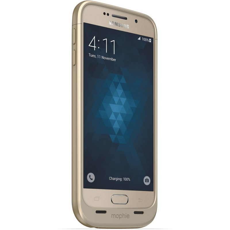 Mophie juice pack Galaxy S6 3300 mAh goud