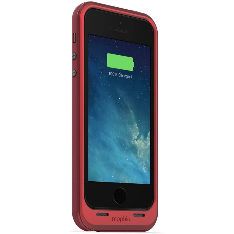 Mophie juice pack plus iPhone 5(S)/SE 2100 mAh rood