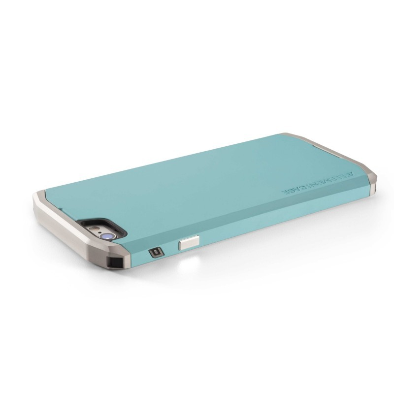 Element case Solace iPhone 6(S) Turquoise/zilver