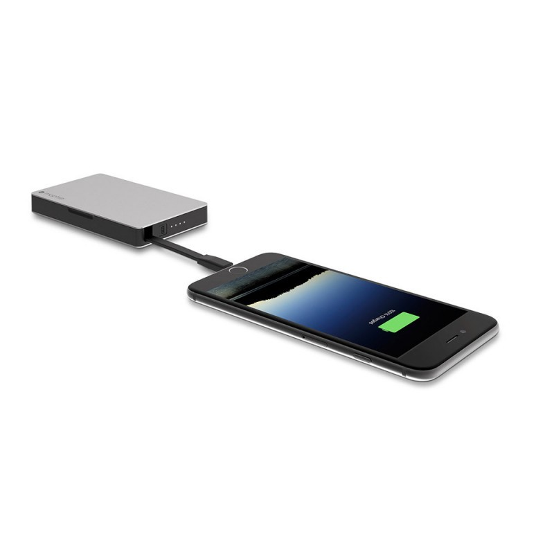 Mophie powerstation plus 5000 mAh Micro USB zwart