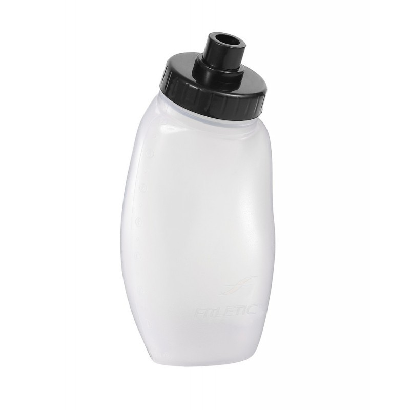 Fitletic Replacement Hydration Bottles 2 x 250 ml Black