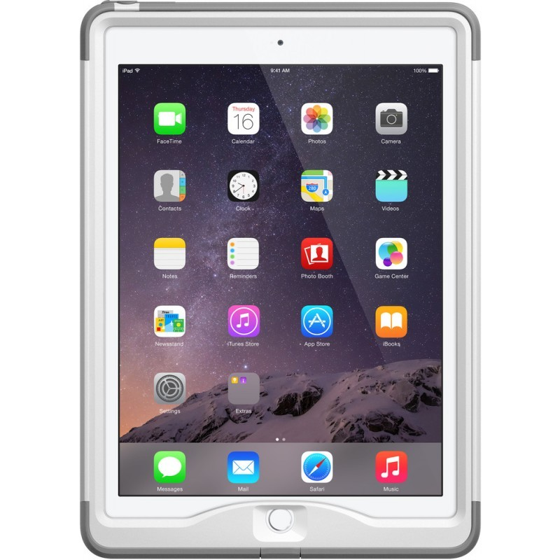 Lifeproof Nüüd case iPad Air 2 wit