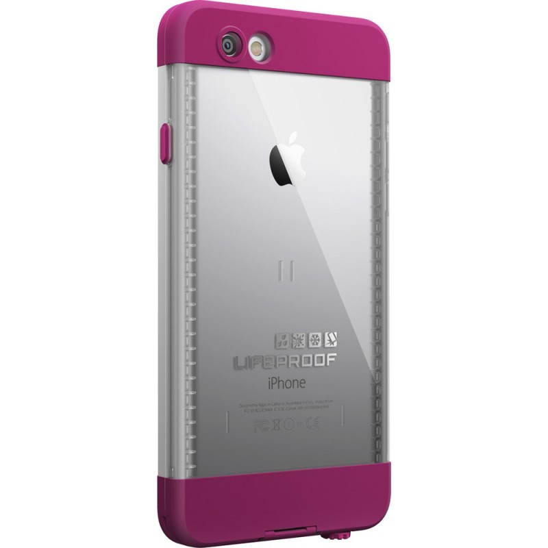 Lifeproof Nüüd iPhone 6 wit/roze