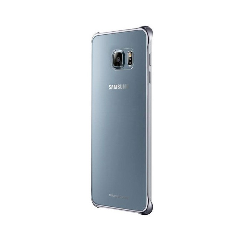 Samsung Clear Cover Galaxy S6 Edge Plus zilver