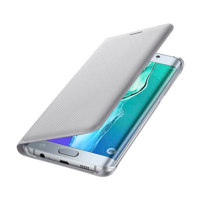 Samsung Flip Wallet Galaxy S6 Edge Plus zilver