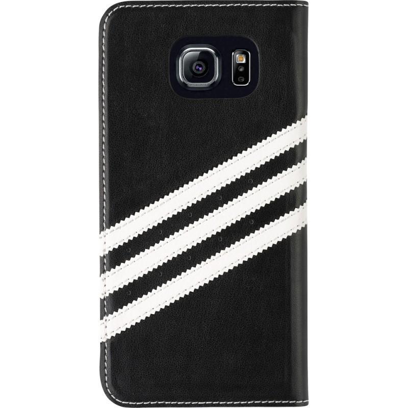 Adidas Basics Booklet Galaxy S6 Black / White