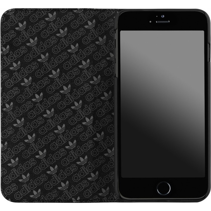 Adidas Basics Booklet iPhone 6 Plus / 6S Plus Black / White