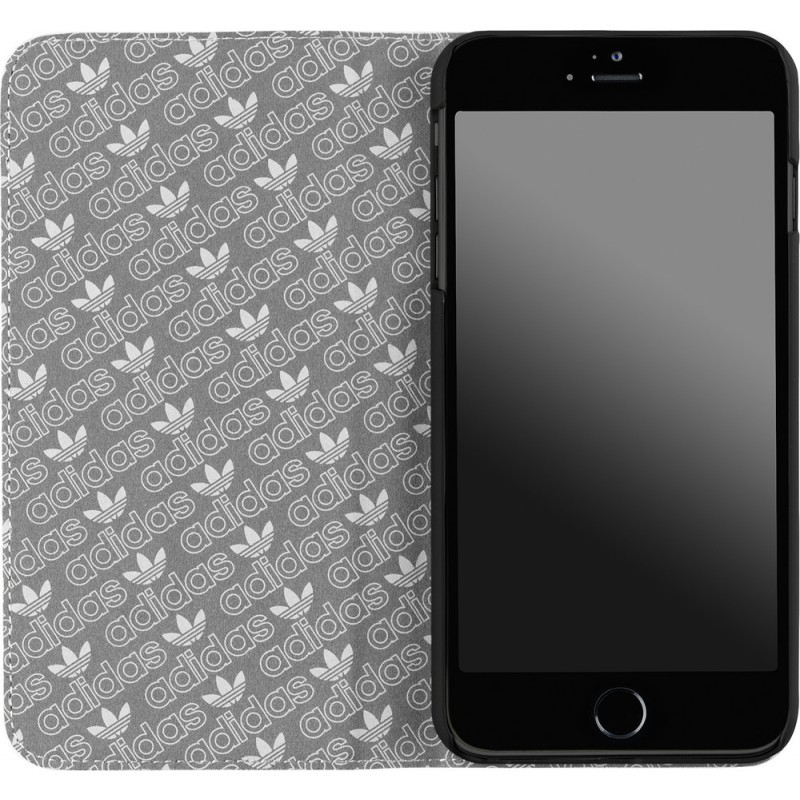 Adidas Basics Booklet iPhone 6 Plus / 6S Plus White / Black