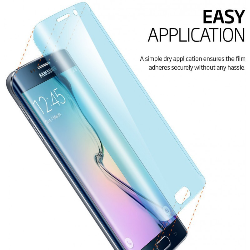 Spigen Curved Crystal Galaxy S6 Edge Screen Protector