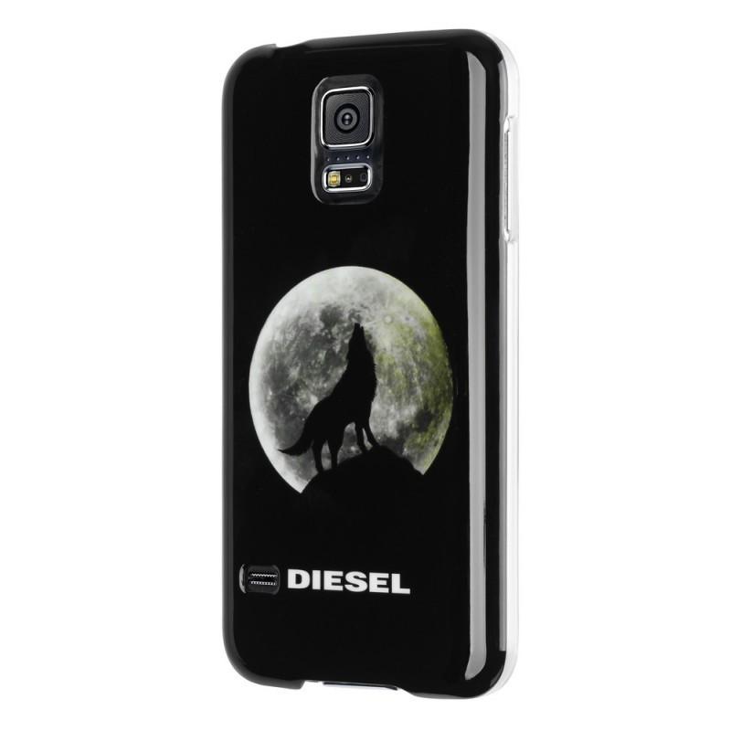 Diesel Kant Wolf Galaxy S5 Black