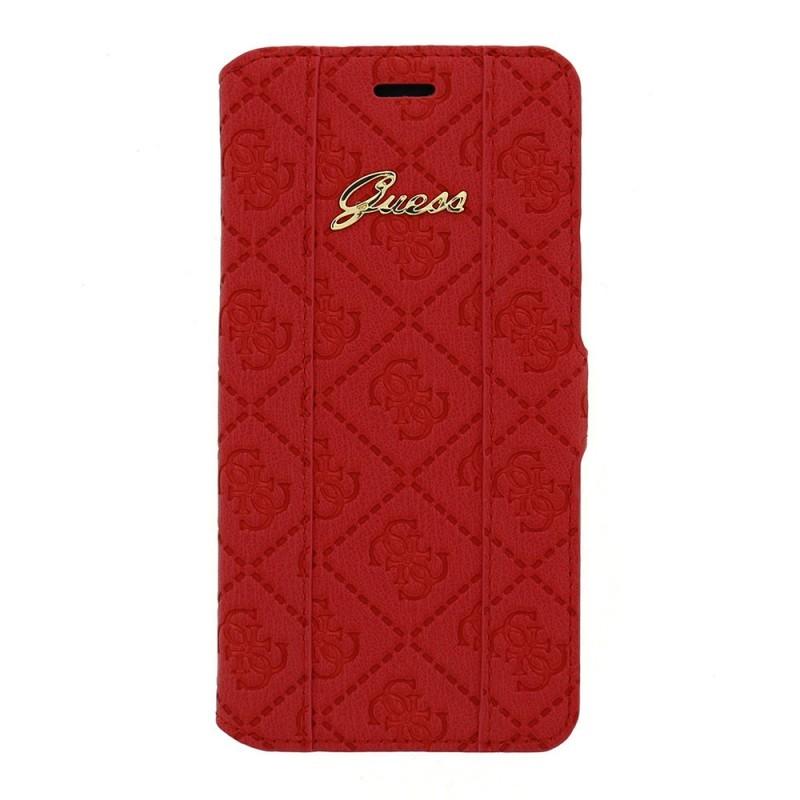 Guess Scarlett Galaxy S6 Book Case Red