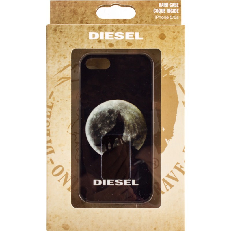 Diesel Pluton Wolf iPhone 5 / 5S Black