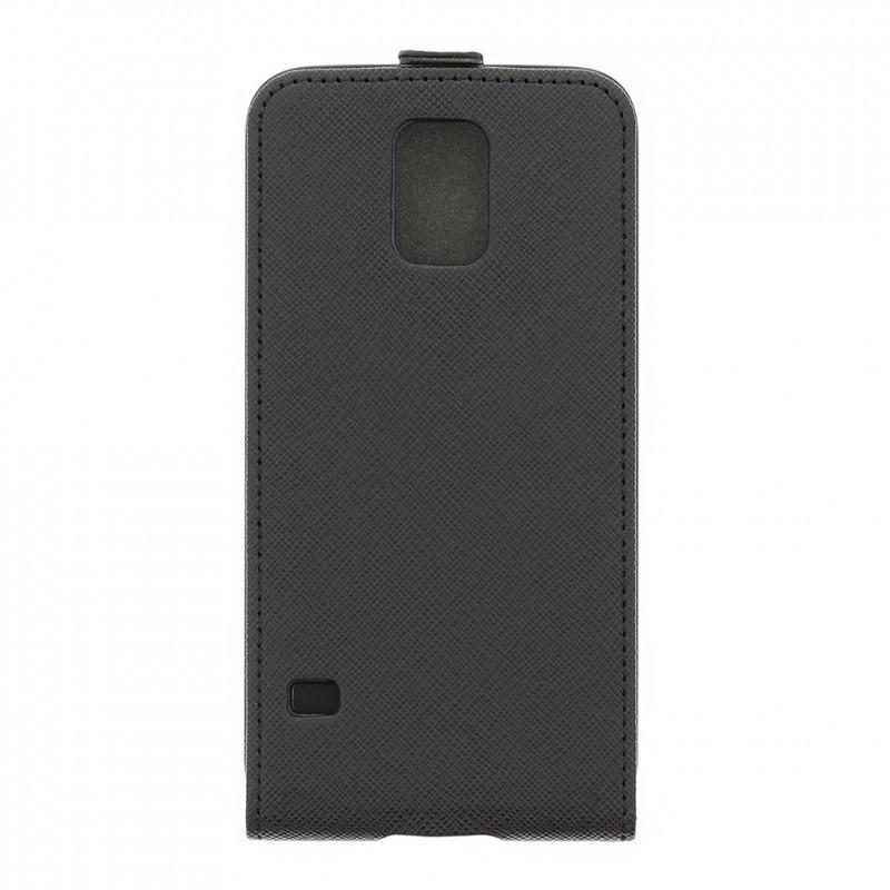 Studded Galaxy S5 Flip Case Black