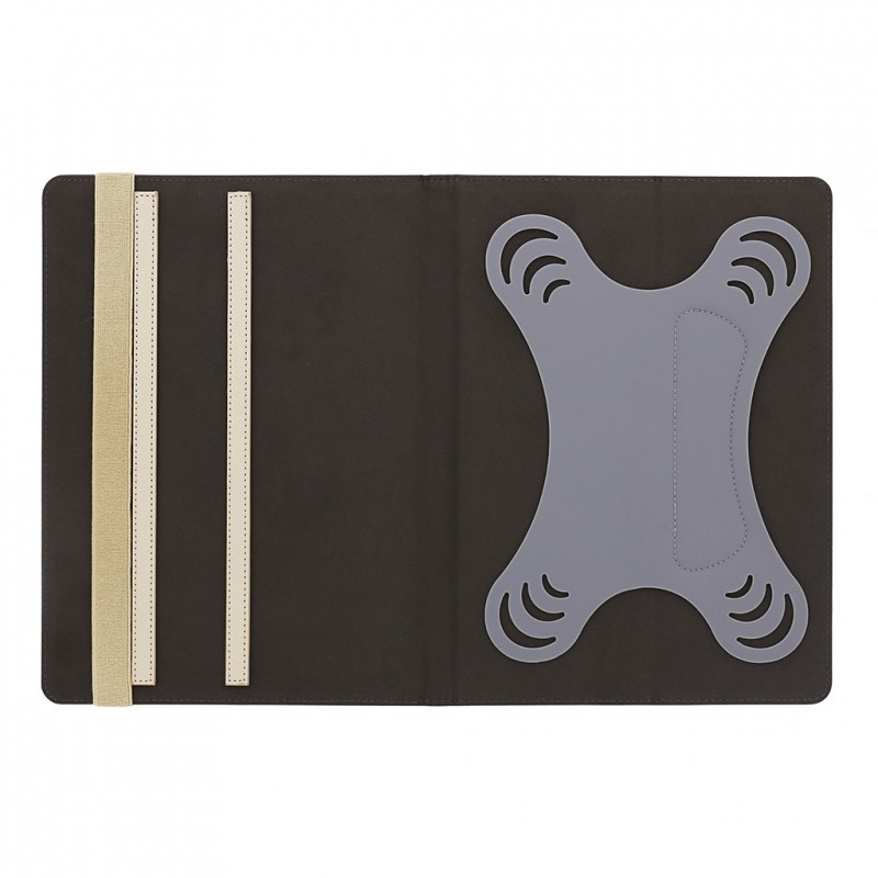 Studded iPad mini 1 / 2 / 3 Folio Case Cream