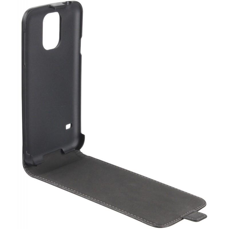 Xqisit Flip Cover Galaxy S5 Black