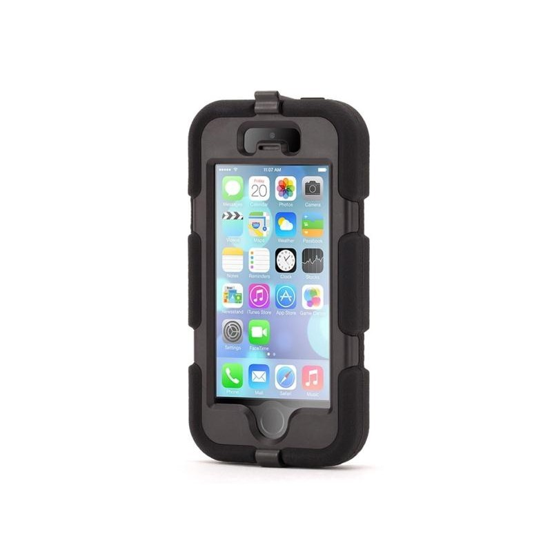 Griffin Survivor hardcase iPhone 5(S)/SE zwart (GB35677-2)
