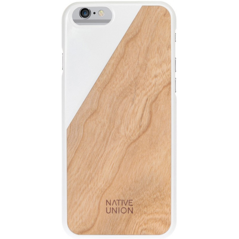 Native Union Clic Wooden iPhone 6 / 6S White