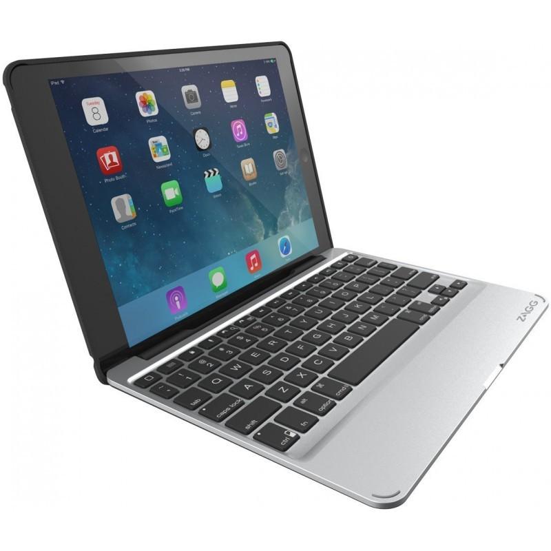 ZAGG Slim Book Case QWERTY iPad Mini 1/2/3 zwart