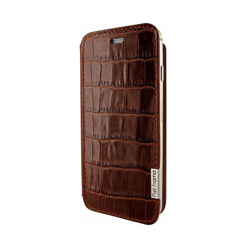 Piel Frama FramaSlim iPhone 6(S) Wild Crocodile bruin