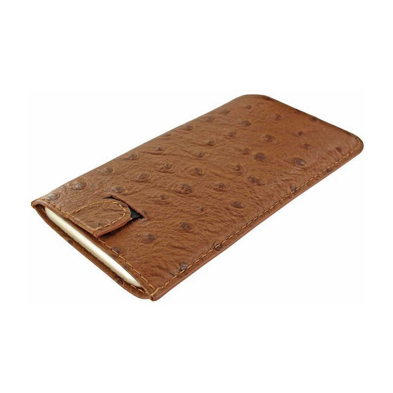 Piel Frama Pull Sleeve iPhone 6(S)/7 Ostrich Tan