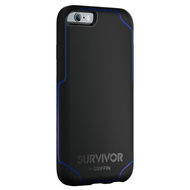 Griffin Survivor Journey iPhone 6 / 6S Black / Blue