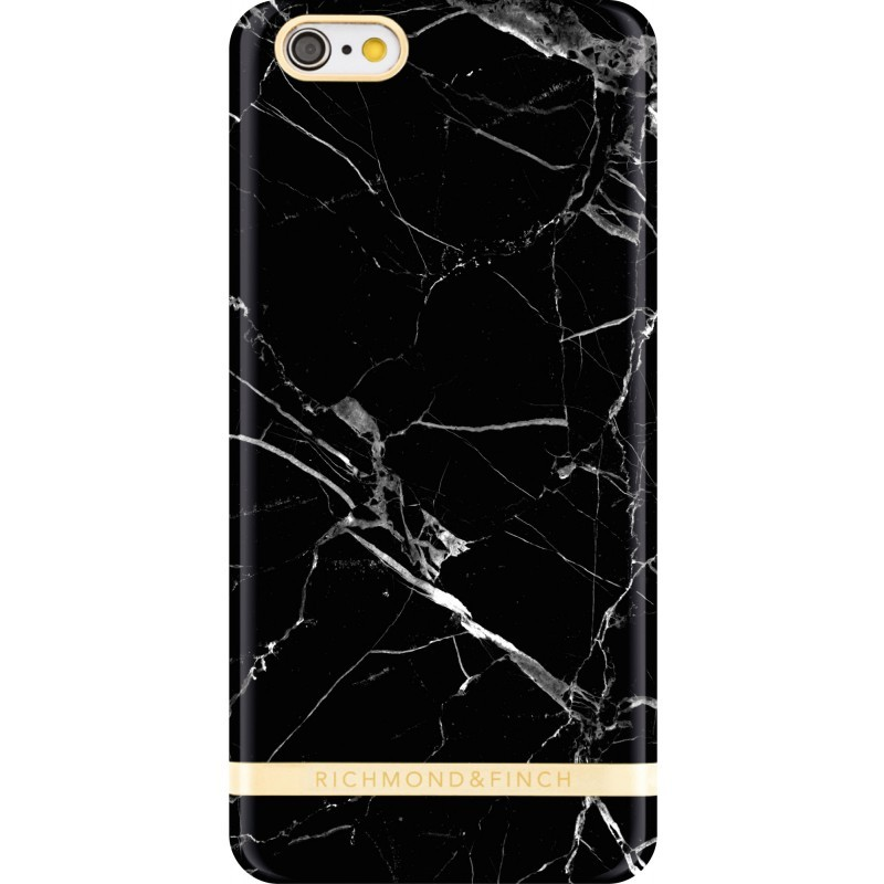 Richmond and Finch Marble Glossy iPhone 6(S) Black