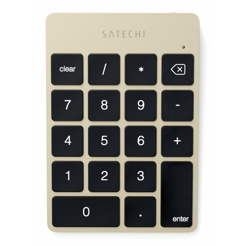 Satechi Slim Wireless Keypad goud
