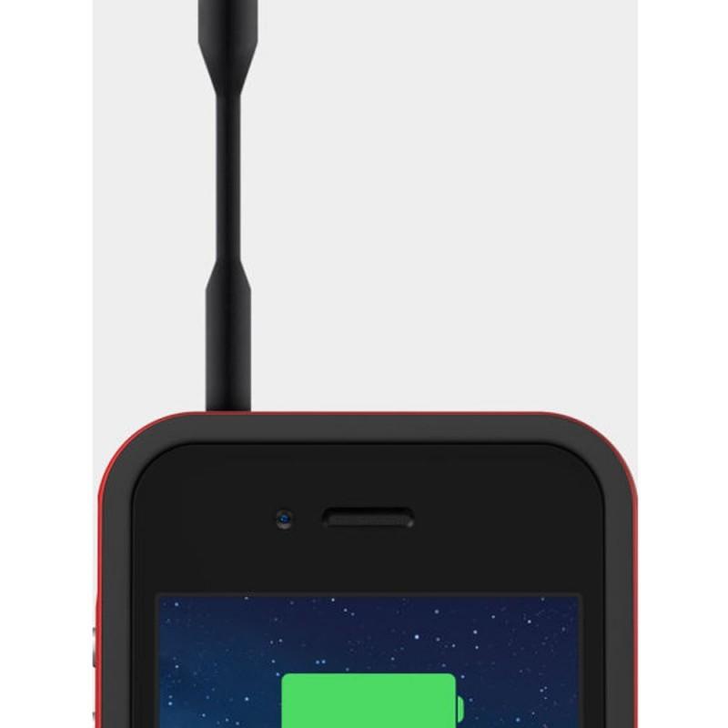 Mophie audio adapter zwart
