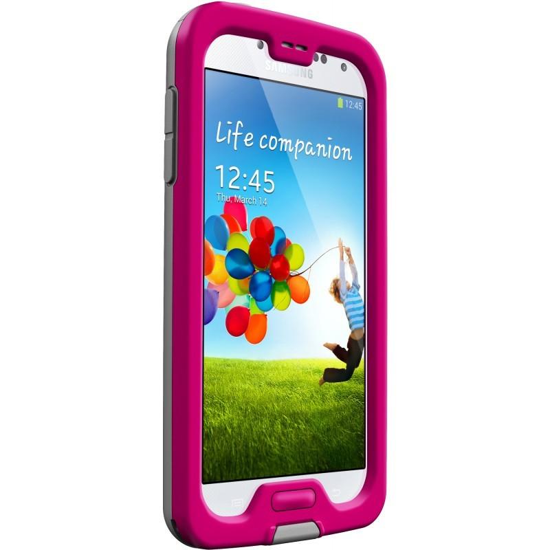 LifeProof Fre Galaxy S4 roze/grijs