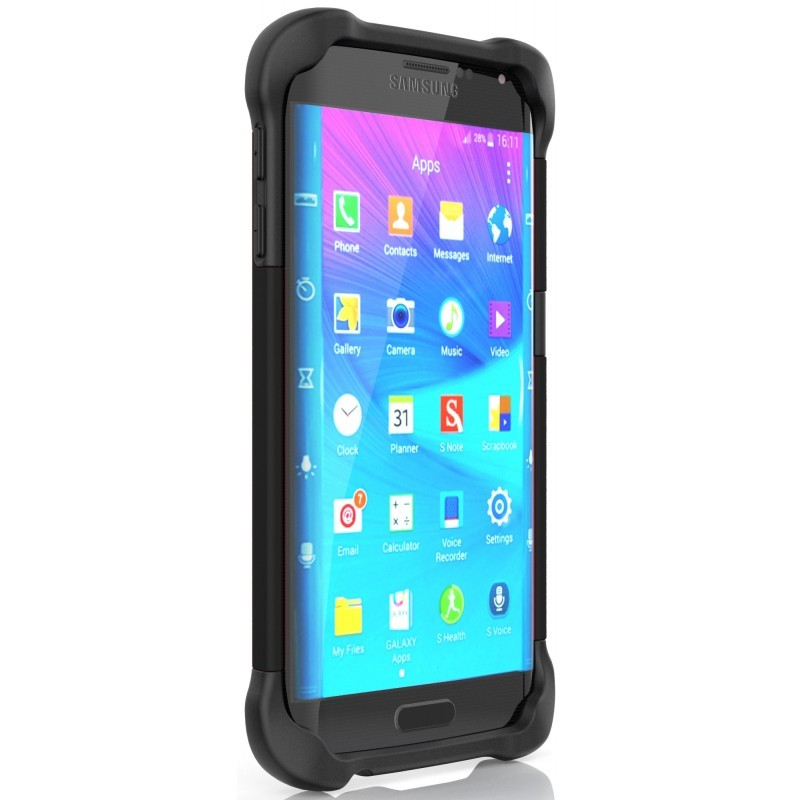 Ballistic Tough Jacket Galaxy S6 Edge Black