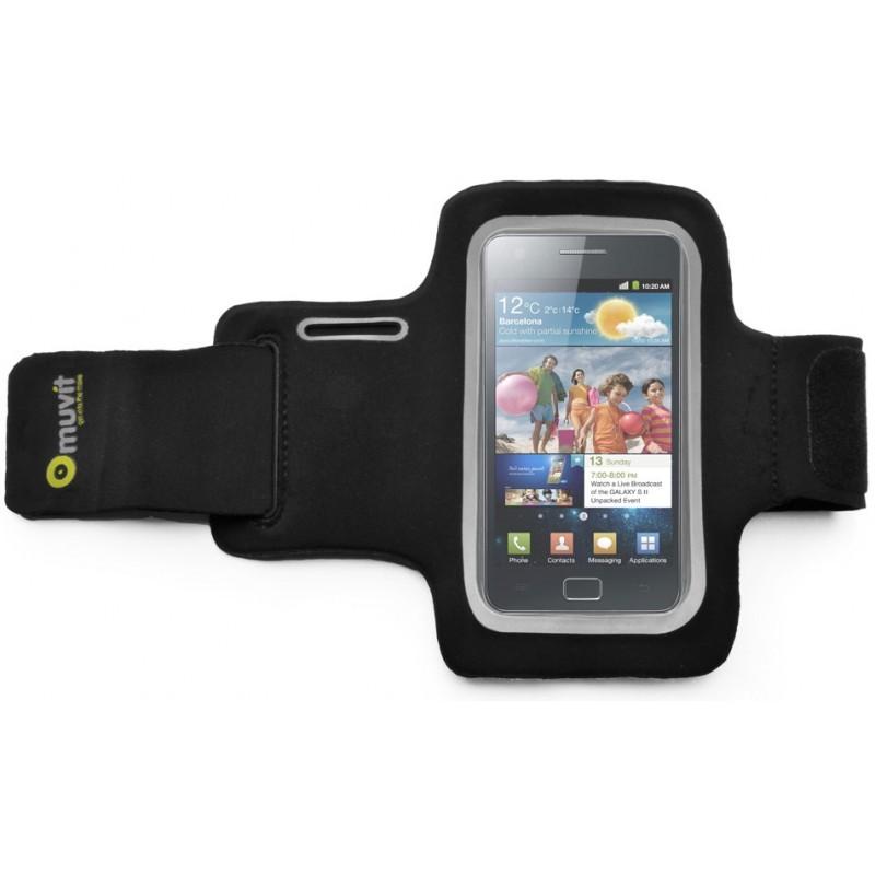 Muvit Universal Sport Armband L zwart