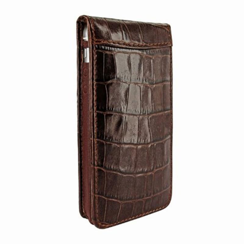 Piel Frama Magnetic iPhone 5(S)/SE Crocodile bruin